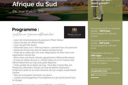 Affiche pour Afrika Golf Tours