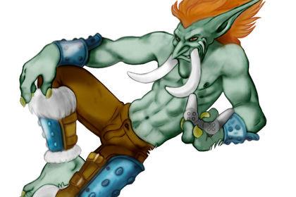 Artwork Troll World Of Warcraft