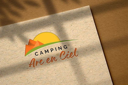 Réalisation logo camping