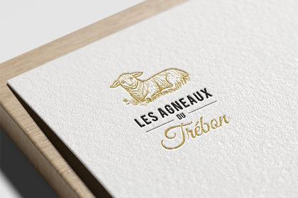 Réalisation logo élevage agneau