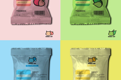Packaging Bubble cat