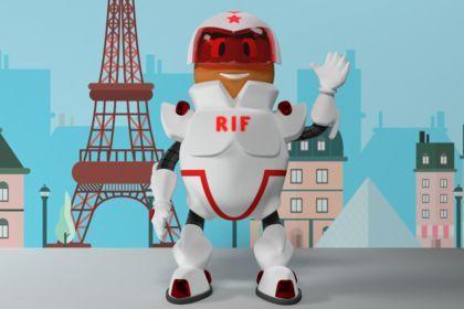 Personnage 3D mascotte