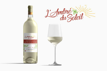 Création apéritif vin blanc