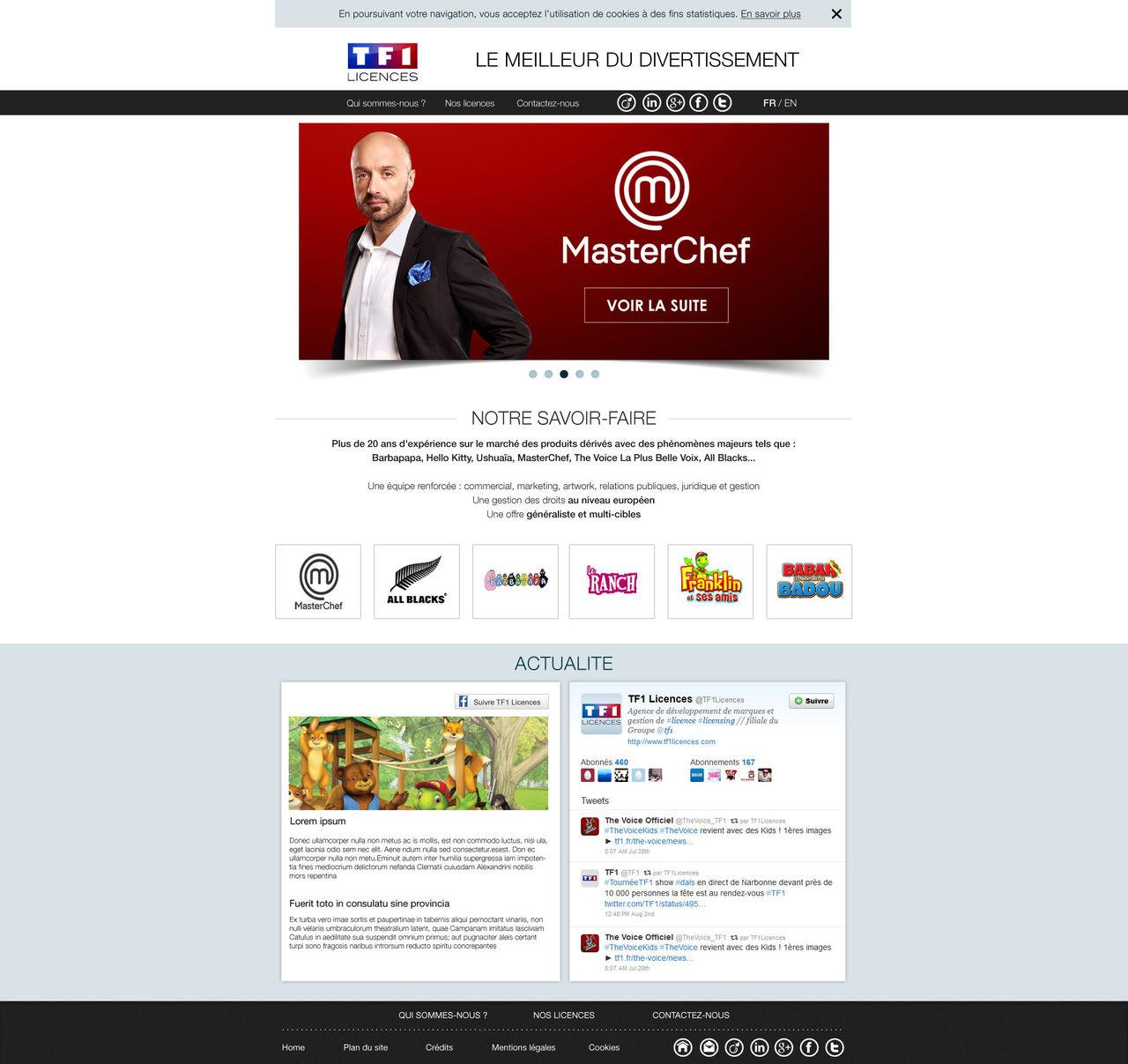 TF1 Licences