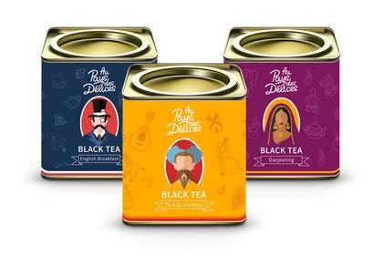 Packaging au pays des délices thé