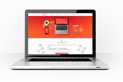 Refonte design agence marketing