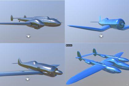 Avions 3D