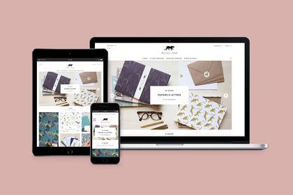 Monsieur Papier I Site Web I Eshop