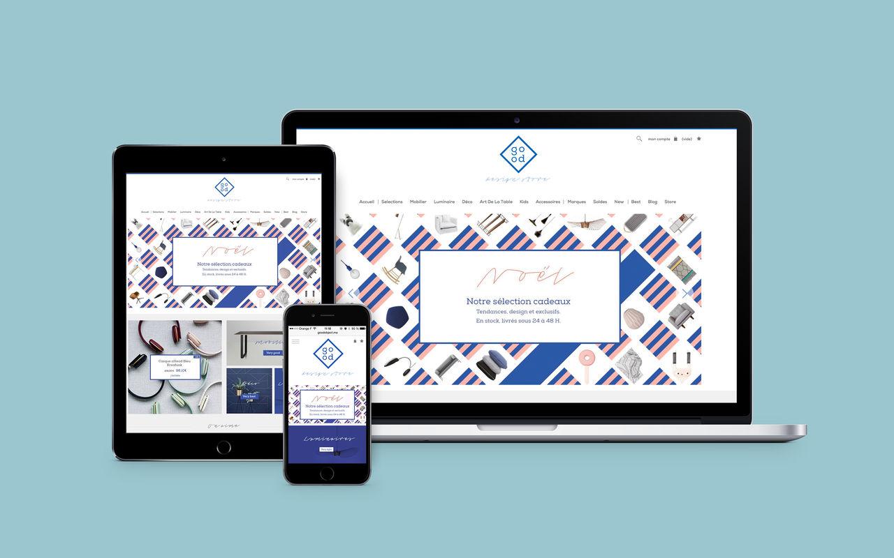 Good Design Store I Site Web I Eshop