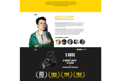 Nikon Film Festival I Site Web
