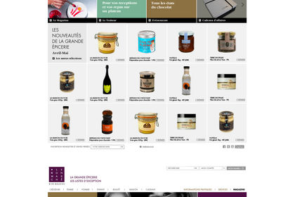 Le Bon Marché I Site Web I Eshop