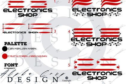Proposition Logo Electronics Shop