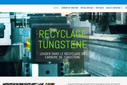 Reprise site recyclagetungstene.com