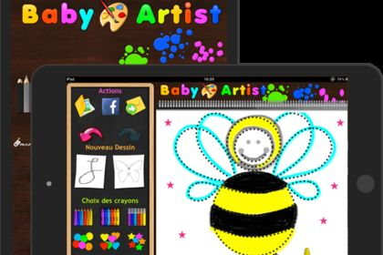 Application ipad baby artist