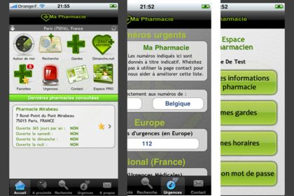 Application iphone ma pharmacie