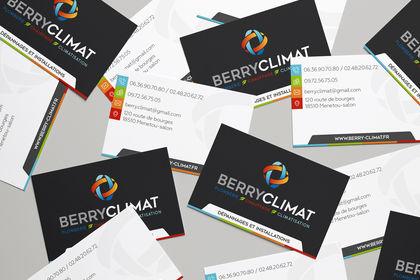 Logo & Carte de visite - Berry climat