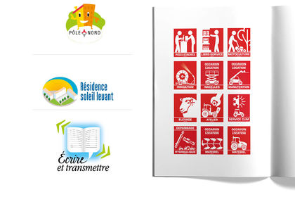Logotypes, pictogrammes