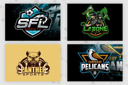 Logos gamer / esport