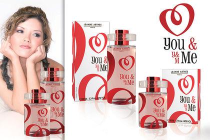 Identité visuelle parfum