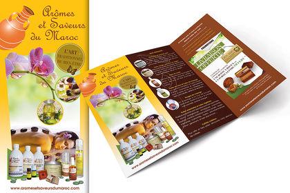 Brochure commerciale denproduits cosmétiques