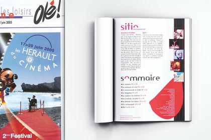 Mise en page sommaire magazine