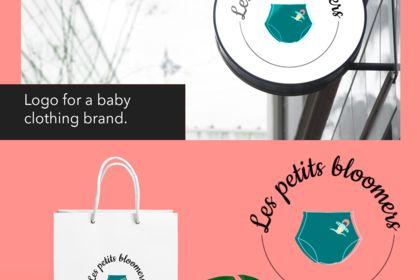 Création logo - vêtements bébés