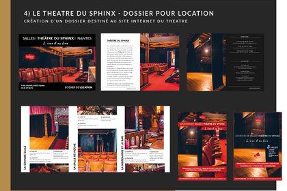 Affiche théâtre du sphinx
