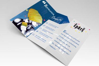 Brochure commerciale de la société ÉPATÉ