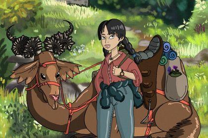 Ghibli style