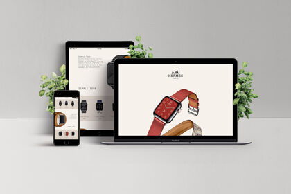 Site Web Hermès x Apple