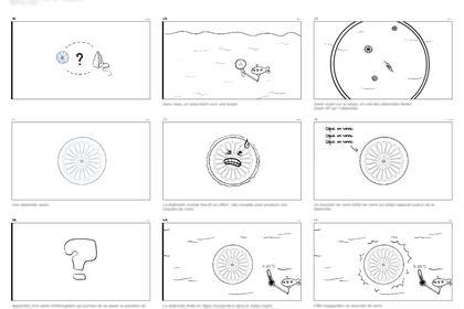 Storyboard - Diatomée