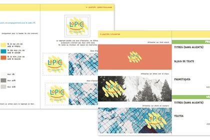 Charte graphique Lopica.fr
