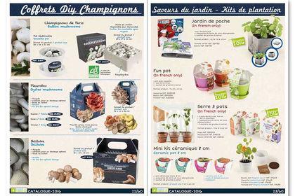 Catalogue 2016 Radis et Capucine