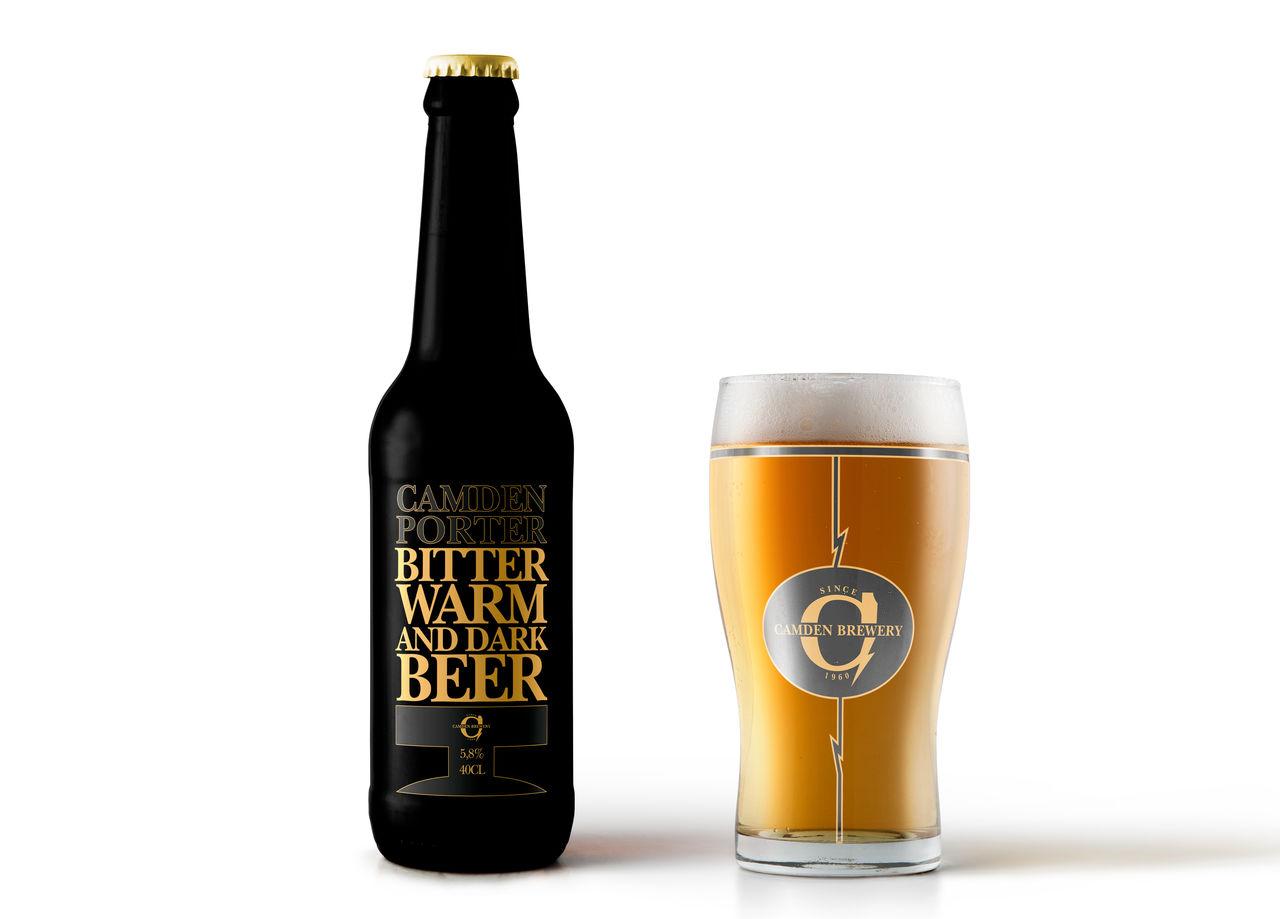 Étiquette Bouteille de Bière
