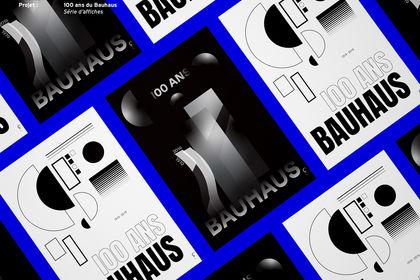 100 ans du Bauhaus