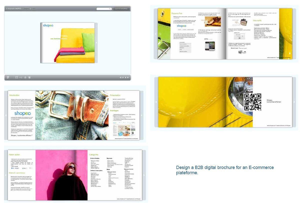 E-brochure digitale