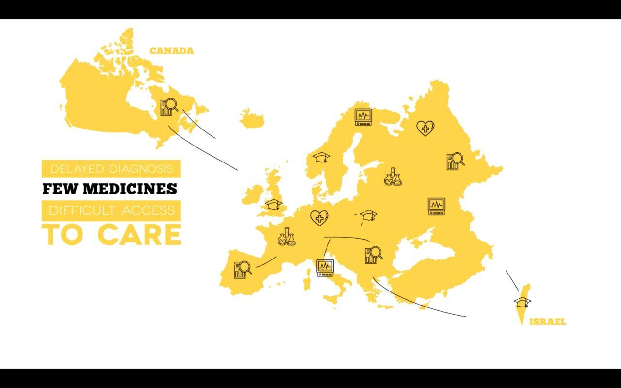 Inserm - campagne rare diseases