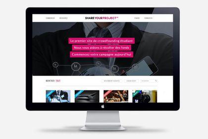 Site internet crowdfunding