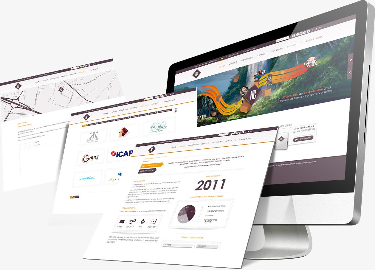 Site internet Hypee Communication