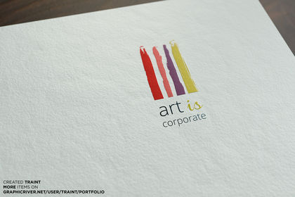 Art is Corporate - Logotype