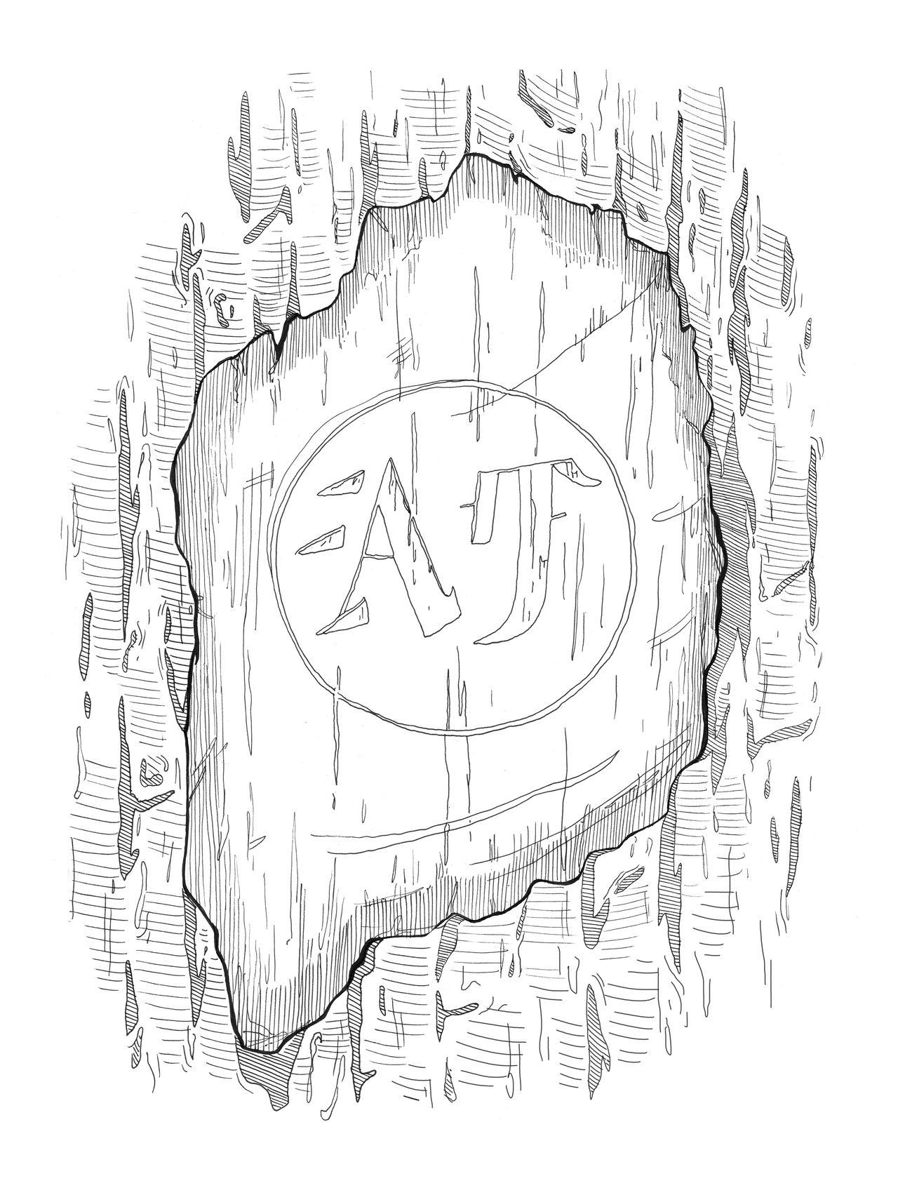 Illustration panneaux sentier pédagogique