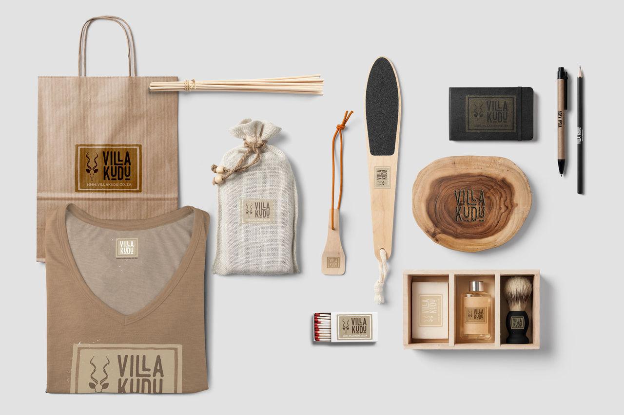 Création du logo Villa Kudu
