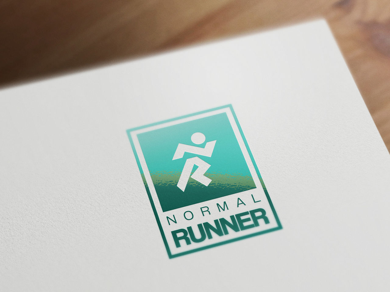 Création du logo Normal Runner