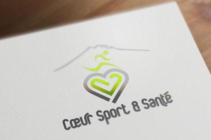 Création du logo de Cœur Sport & Santé