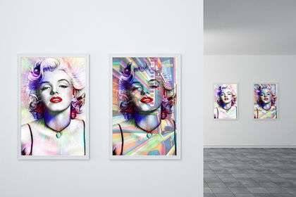 Affiche Pop - Marilyn Monroe
