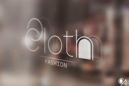 """Logo """"Boutique de vêtements"""""""