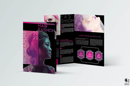"Brochure A4 ""Hair Fashion"""