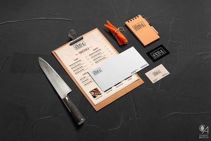 """Identité Visuelle """"Sizzle - Restaurant BBQ"""""""