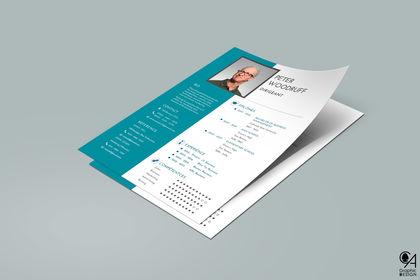 CV - Graphique & Moderne