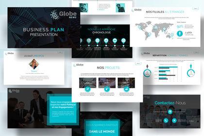 "Présentation  PPT ""Globe News"""